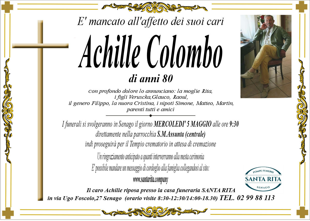 ACHILLE COLOMBO