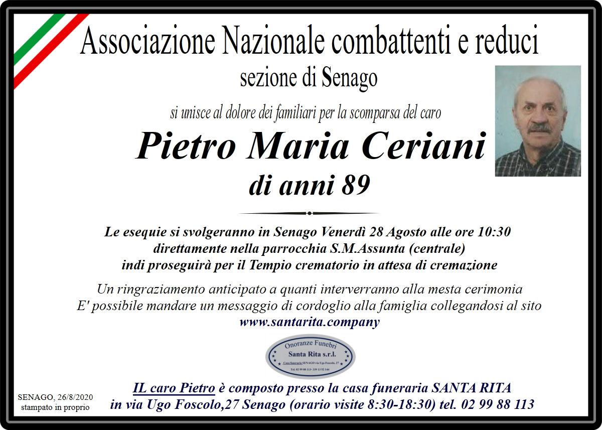 PIETRO MARIA CERIANI