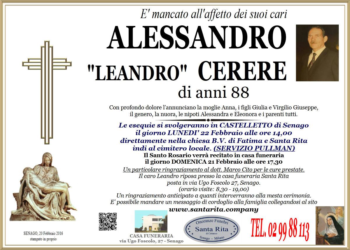 """Alessandro """"Leandro"""" Cerere"""