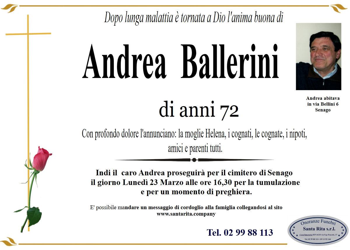 ANDREA BALLERINI