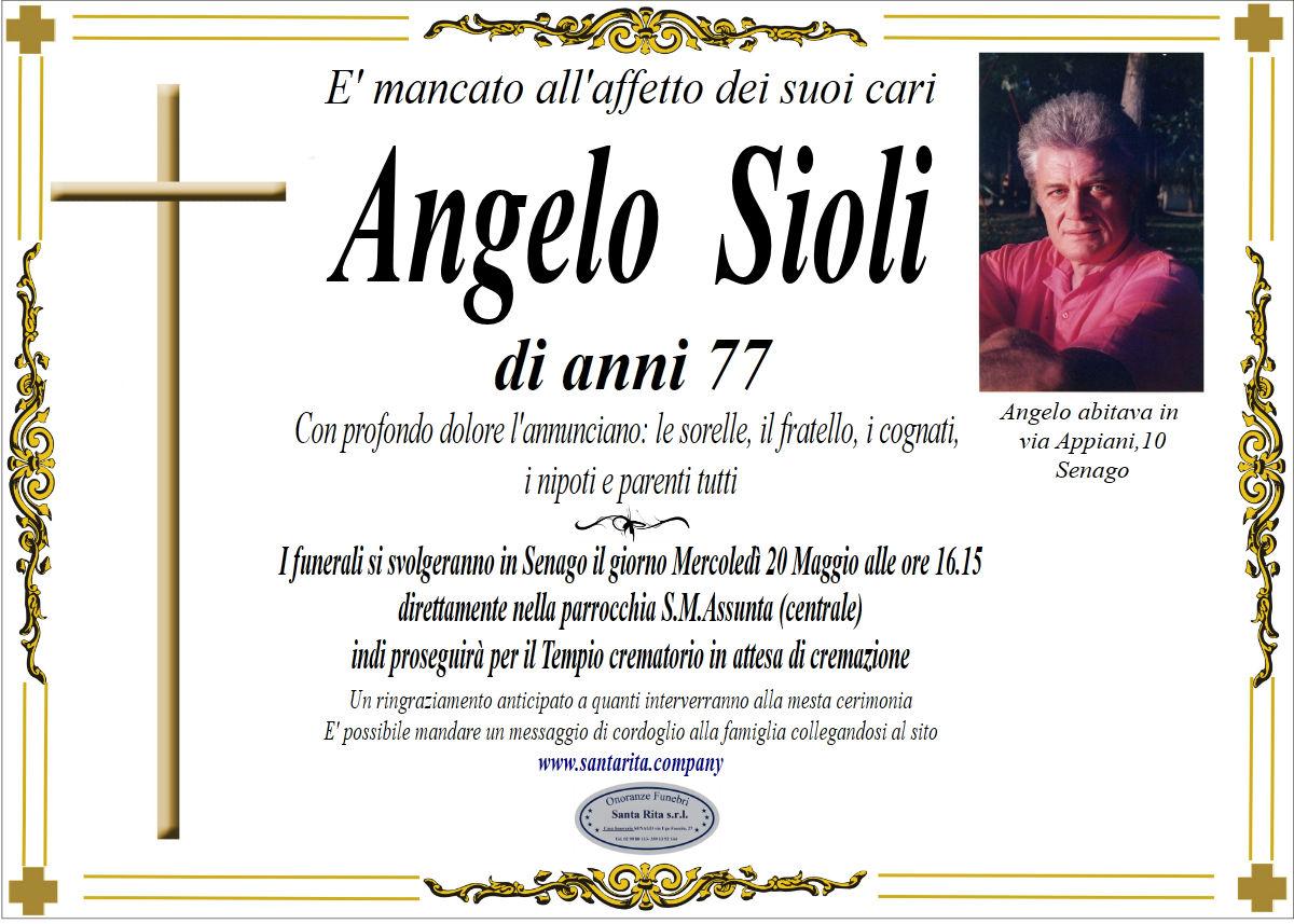 ANGELO  SIOLI