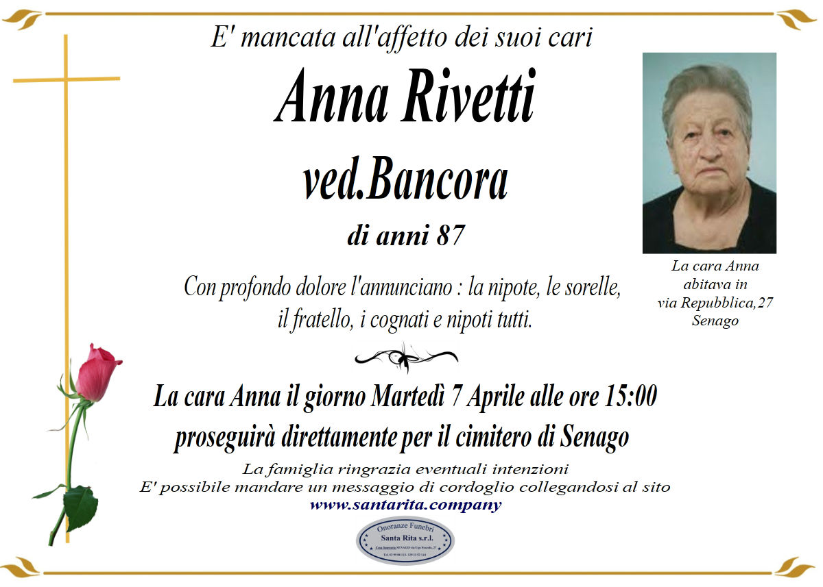 ANNA RIVETTI