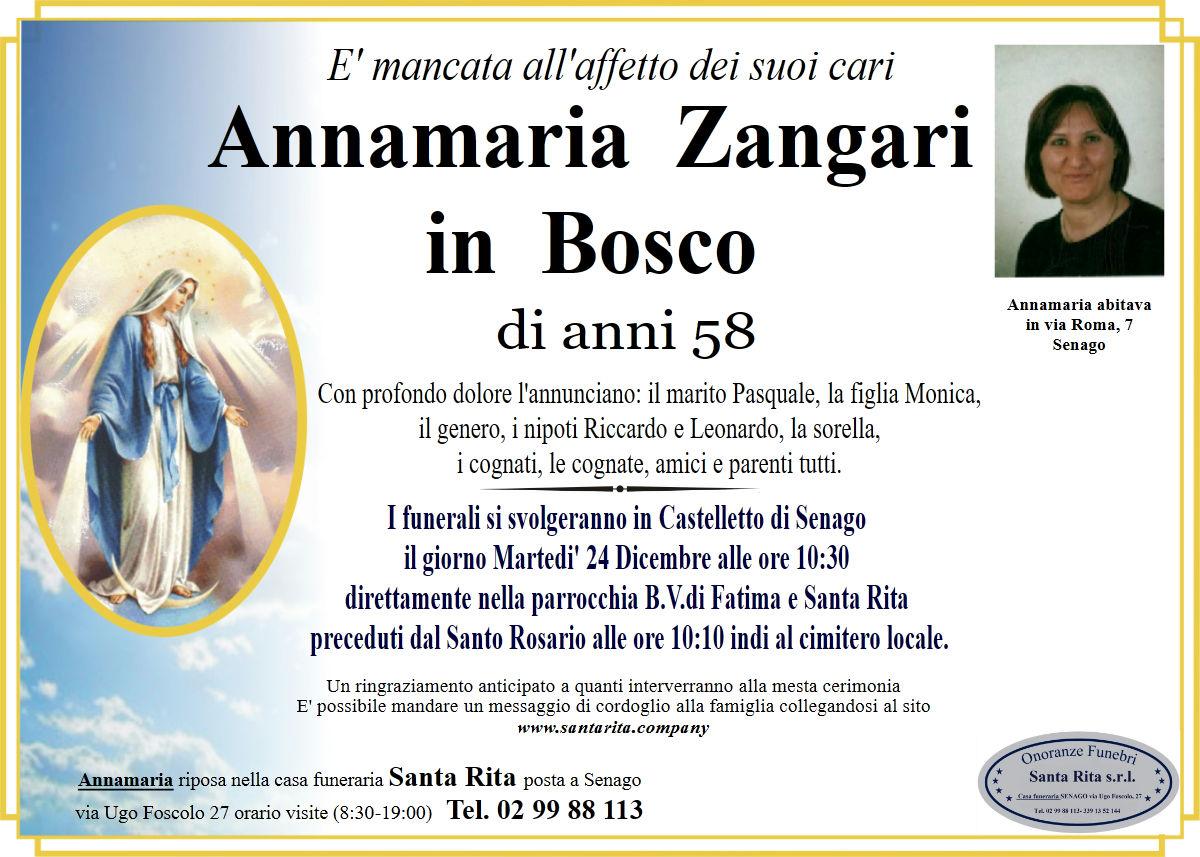ANNAMARIA ZANGARI