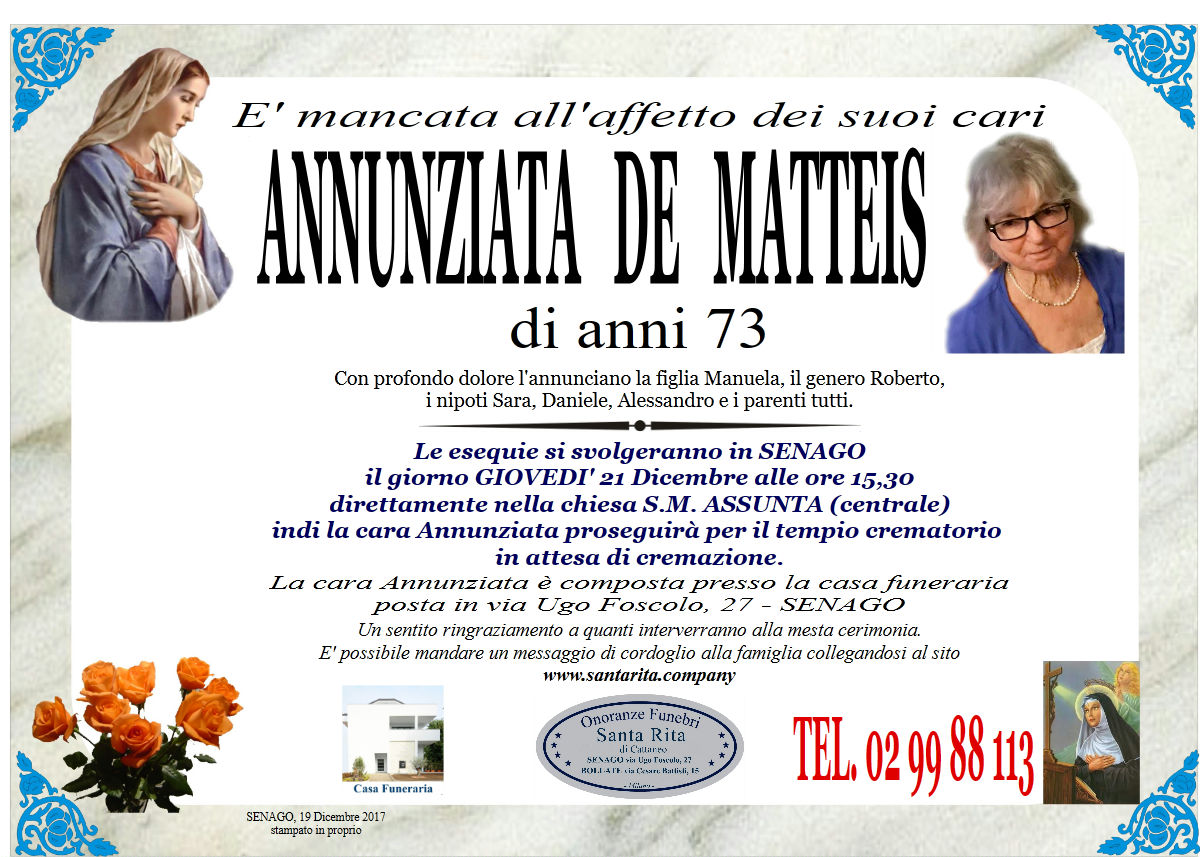 De  Matteis Annunziata