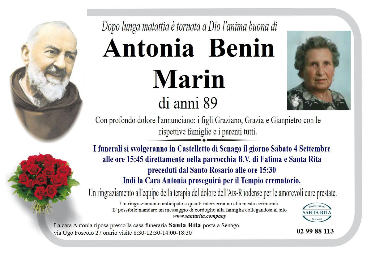 ANTONIA BENIN MARIN