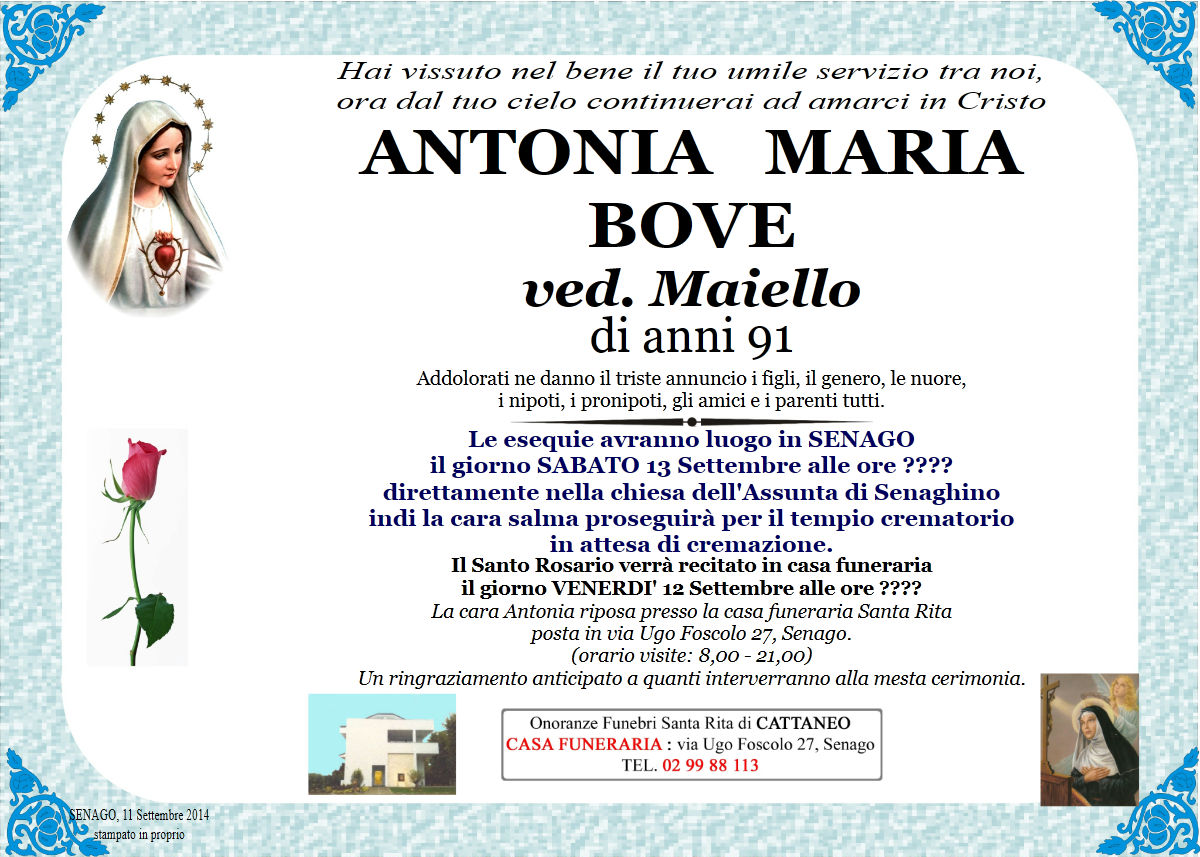 Antonia Maria Bove
