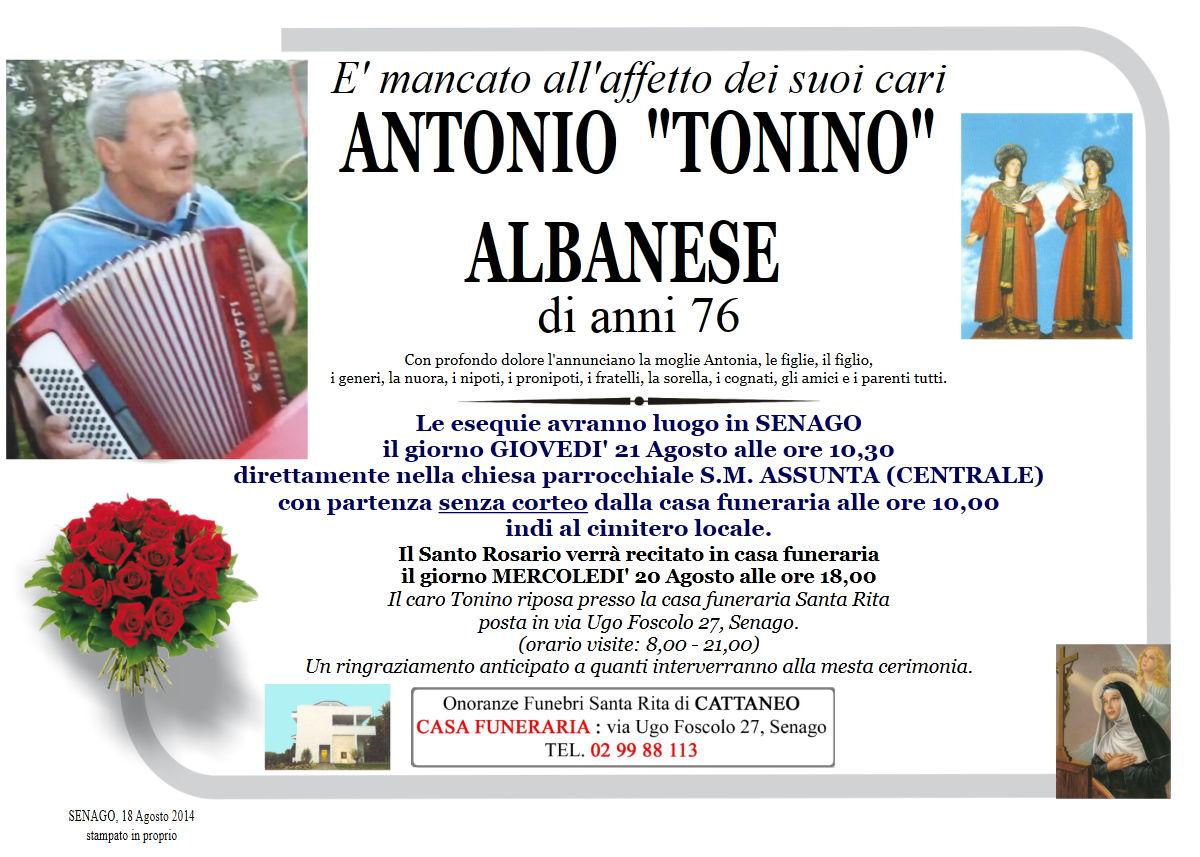 "Antonio ""Tonino"" Albanese"