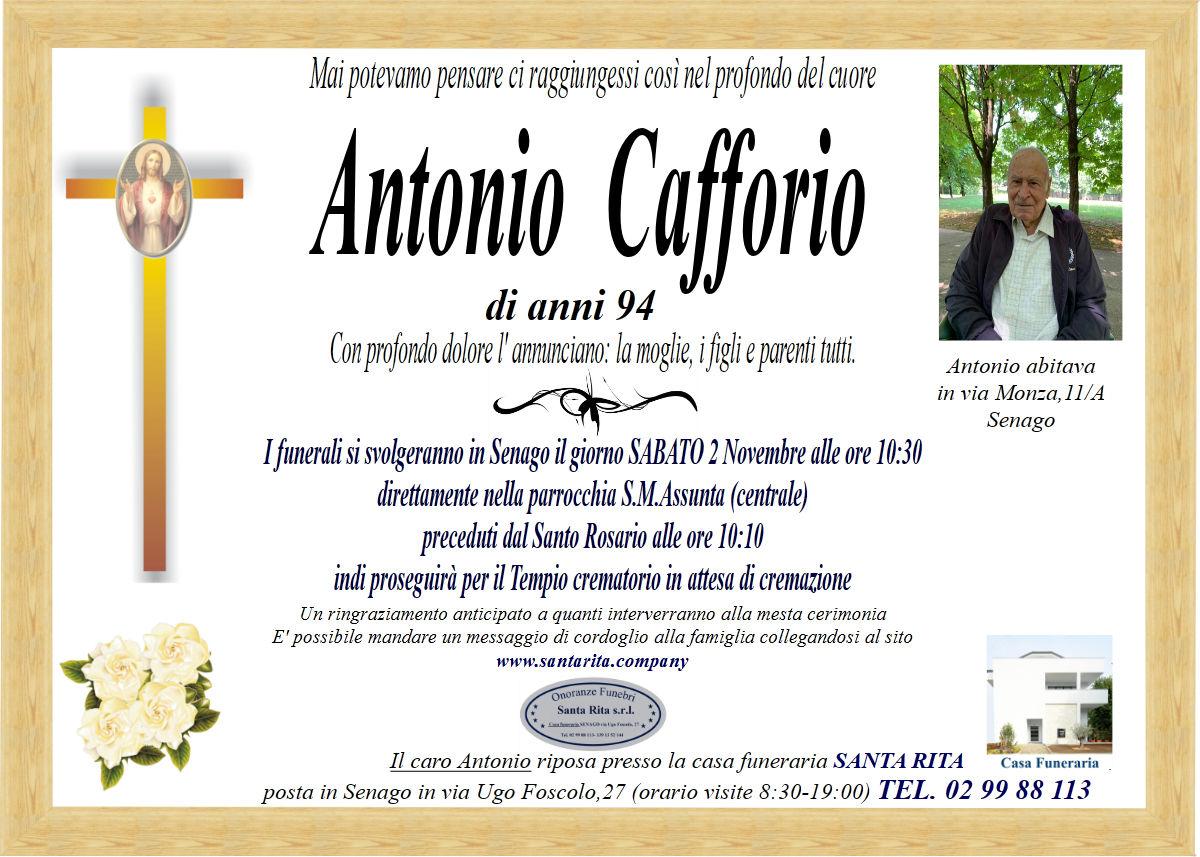 ANTONIO CAFFORIO