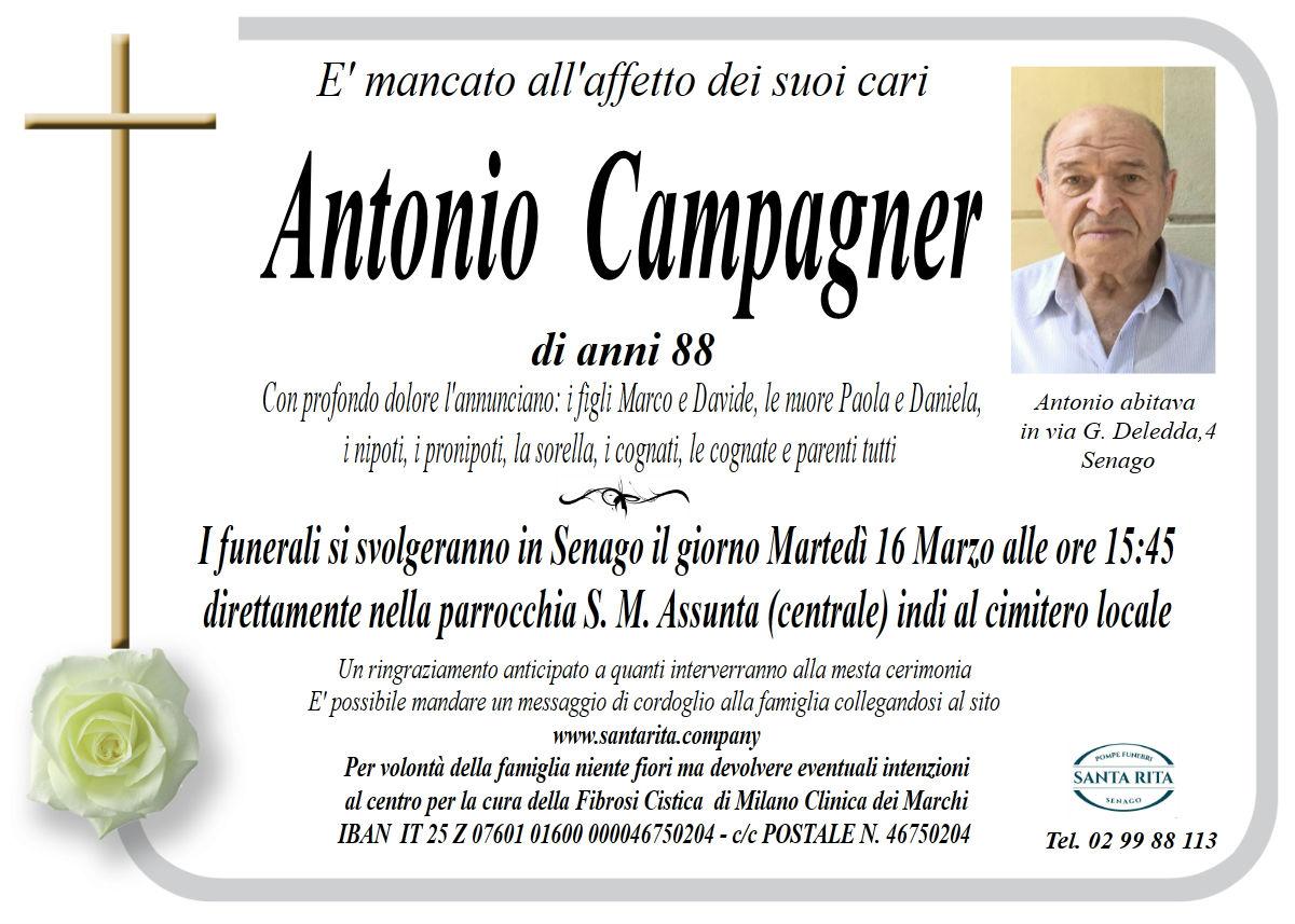 ANTONIO CAMPAGNER