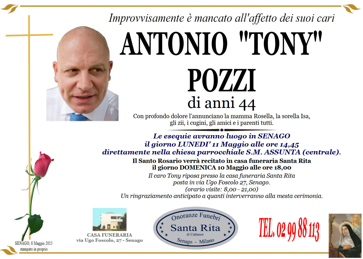 """Antonio """"Tony"""" Pozzi"""