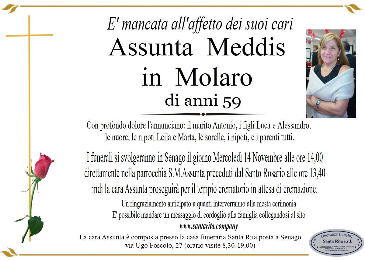 Assunta Meddis in Molaro