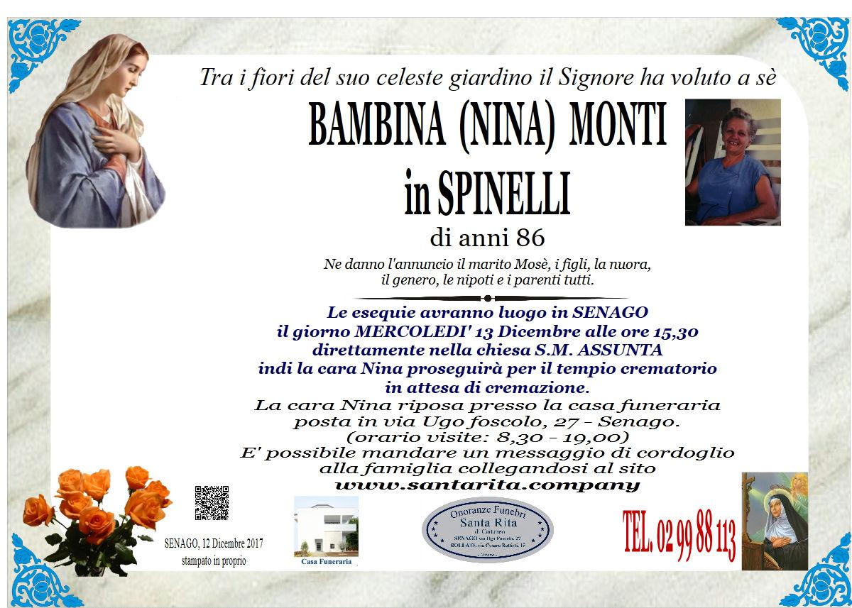 Bambina (Nina) Monti