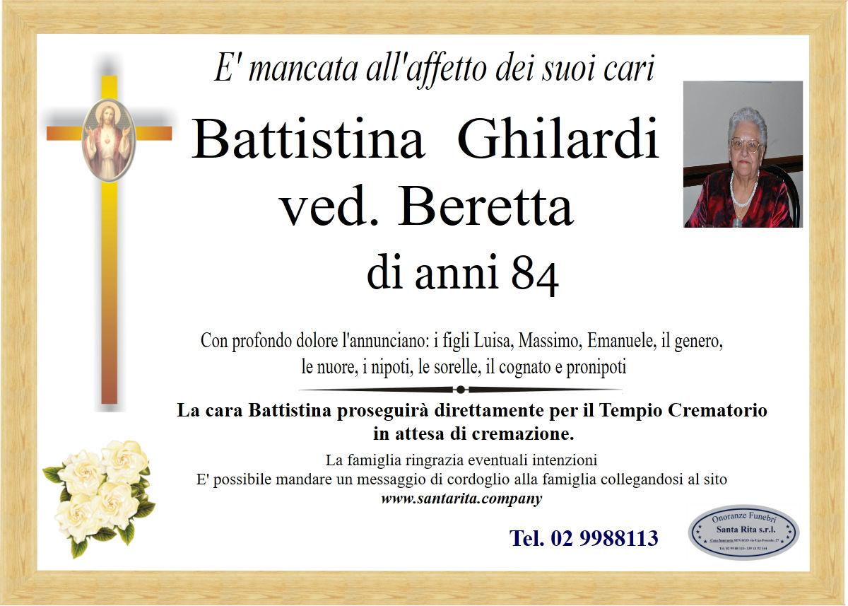 BATTISTINA GHILARDI