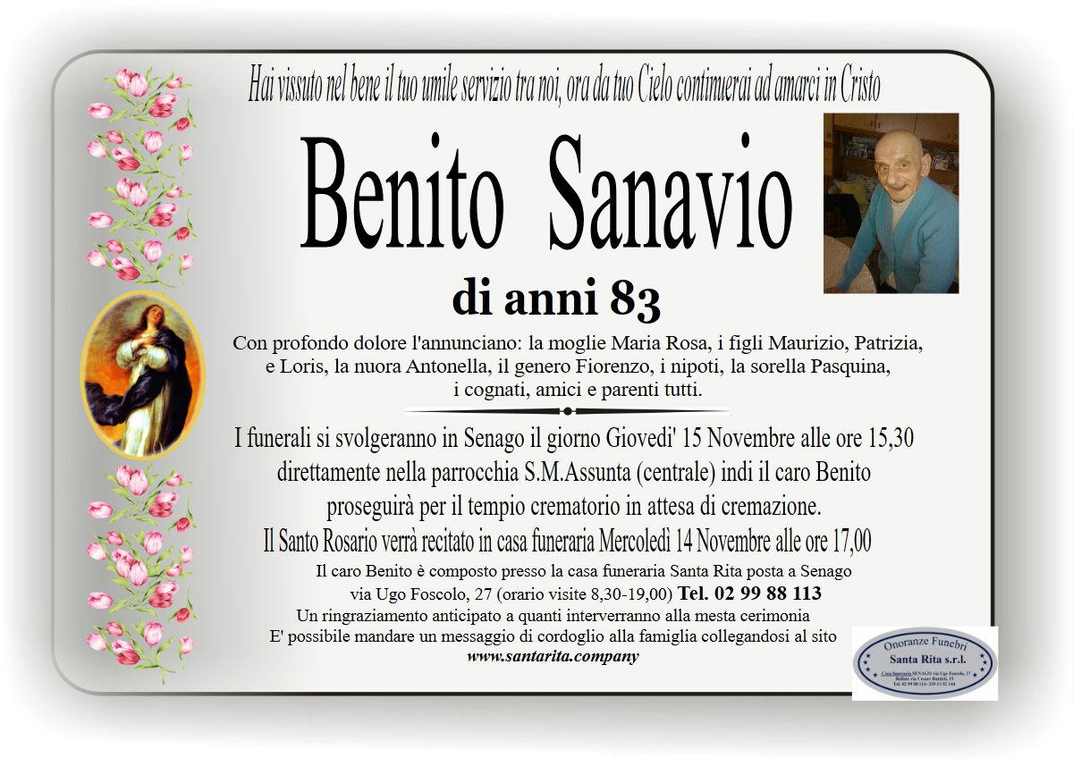 Benito Sanavio