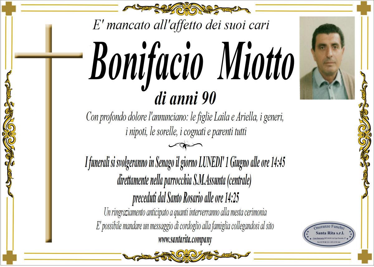 BONIFACIO MIOTTO