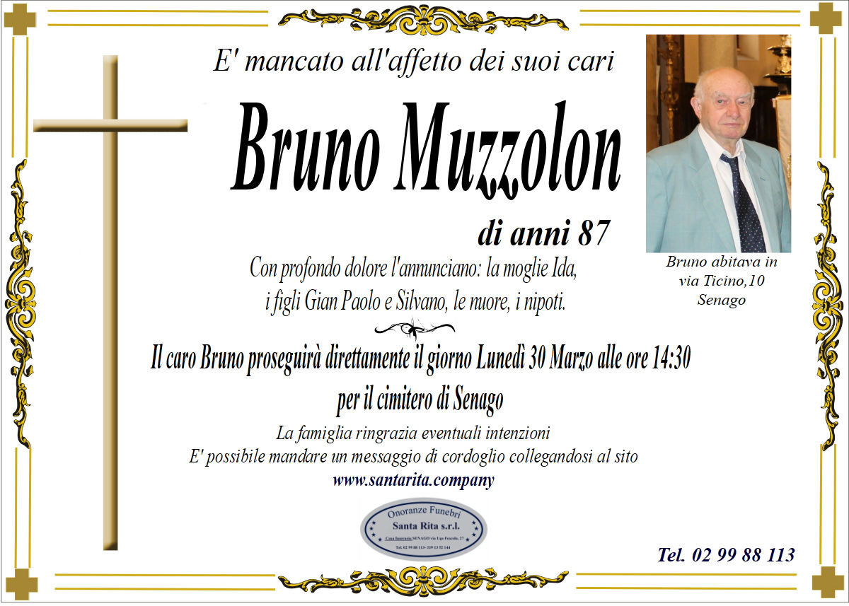 BRUNO MUZZOLON