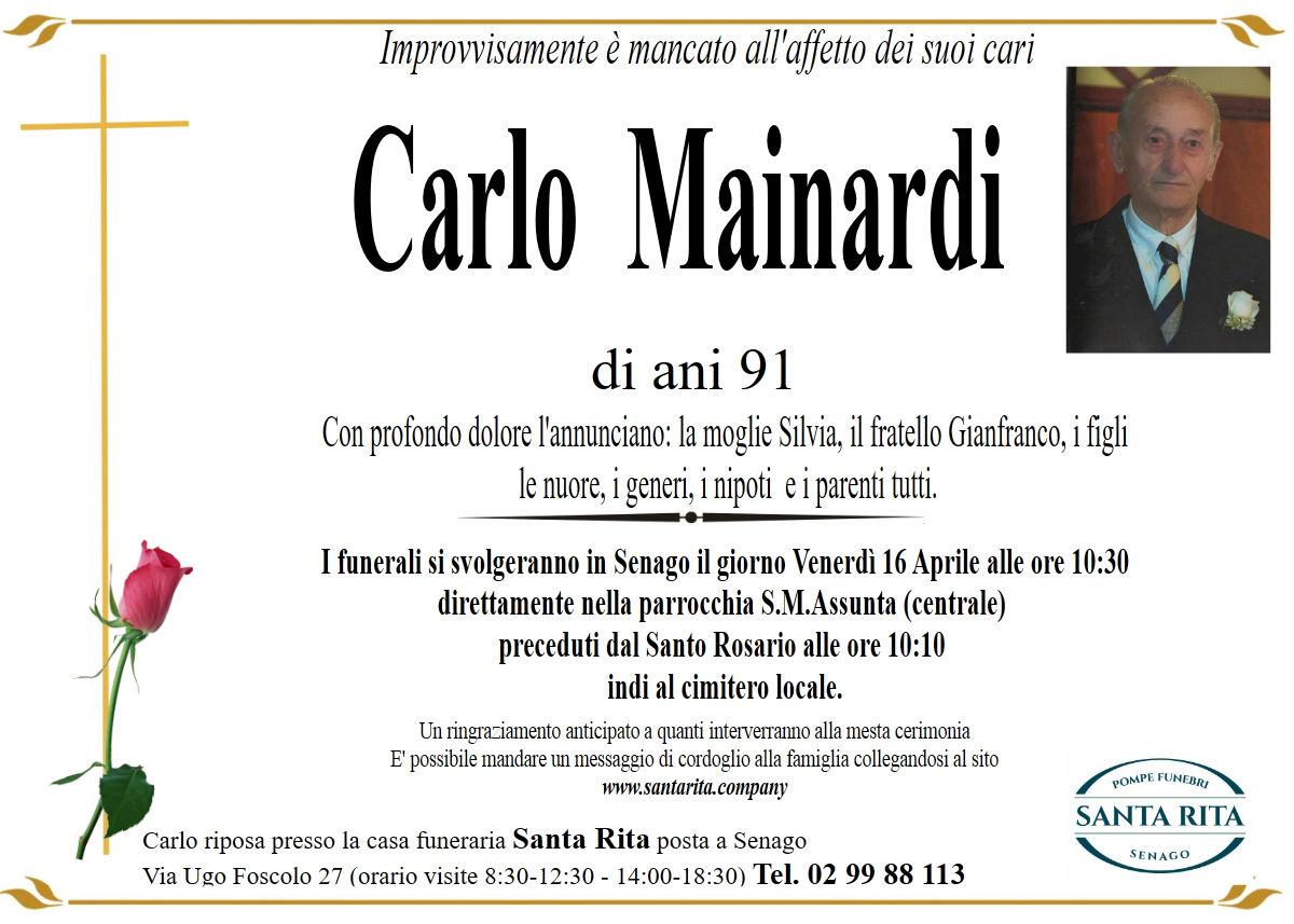 CARLO MAINARDI
