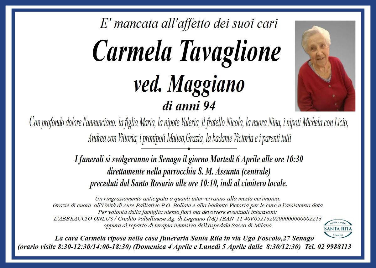 CARMELA TAVAGLIONE