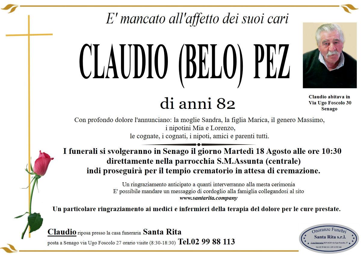 CLAUDIO (BELO) PEZ