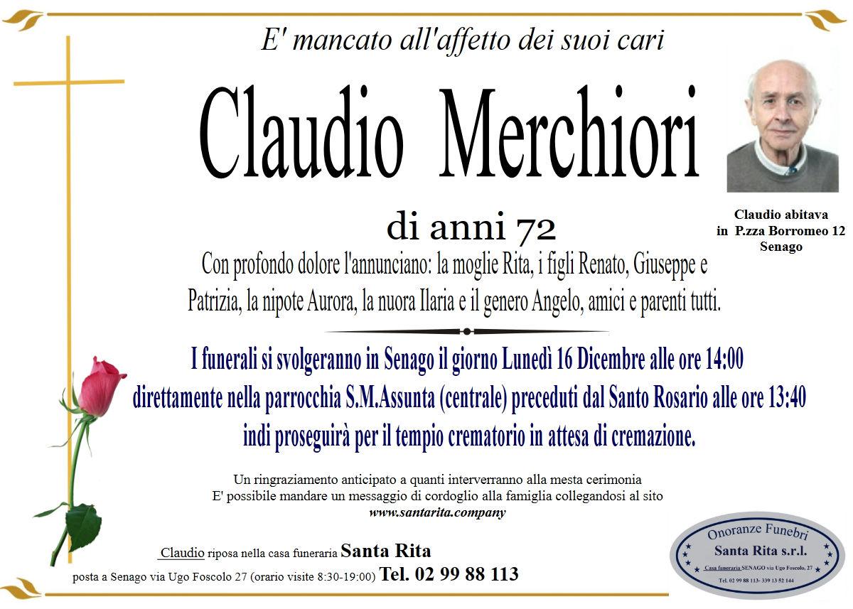 CLAUDIO MERCHIORI