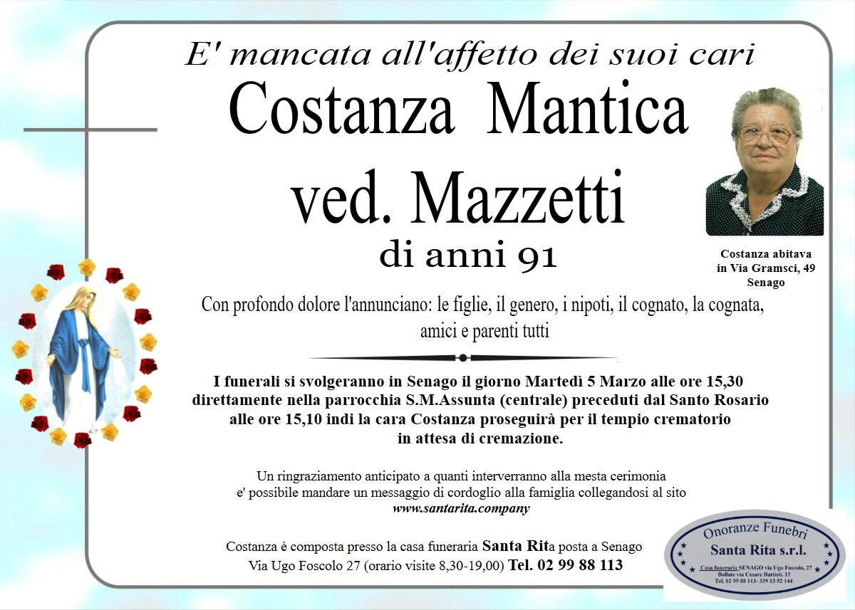 COSTANZA MANTICA