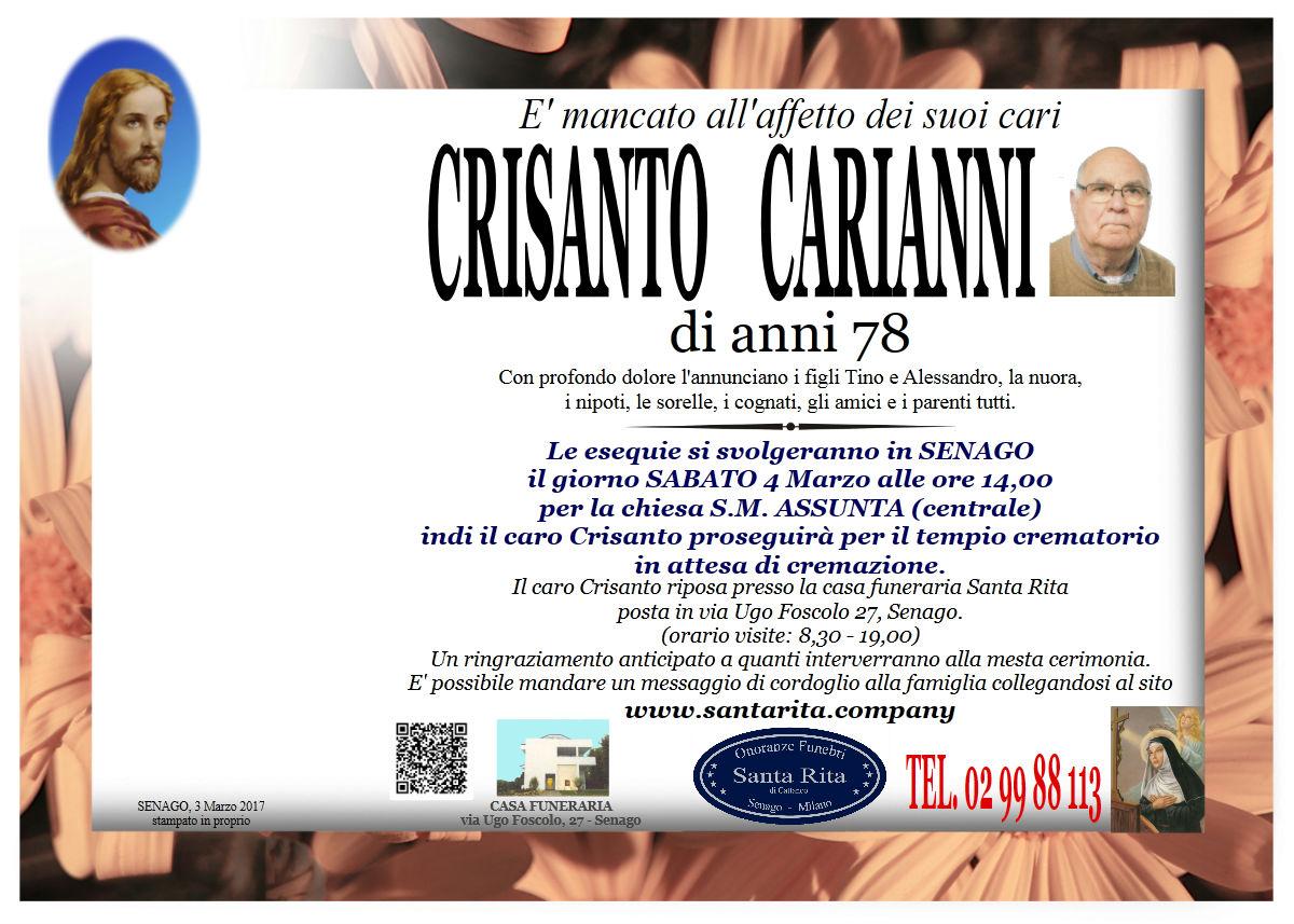 Crisanto Carianni