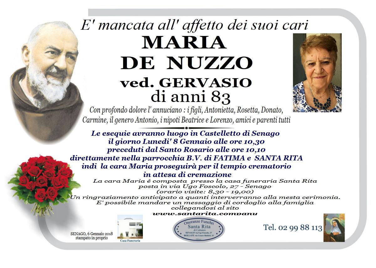 Maria De Nuzzo