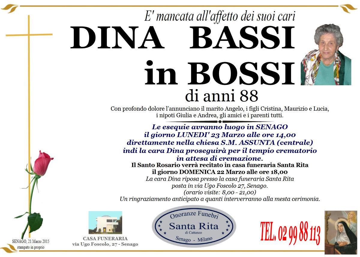 """Bernardina """"Dina"""" Paolina Bassi"""
