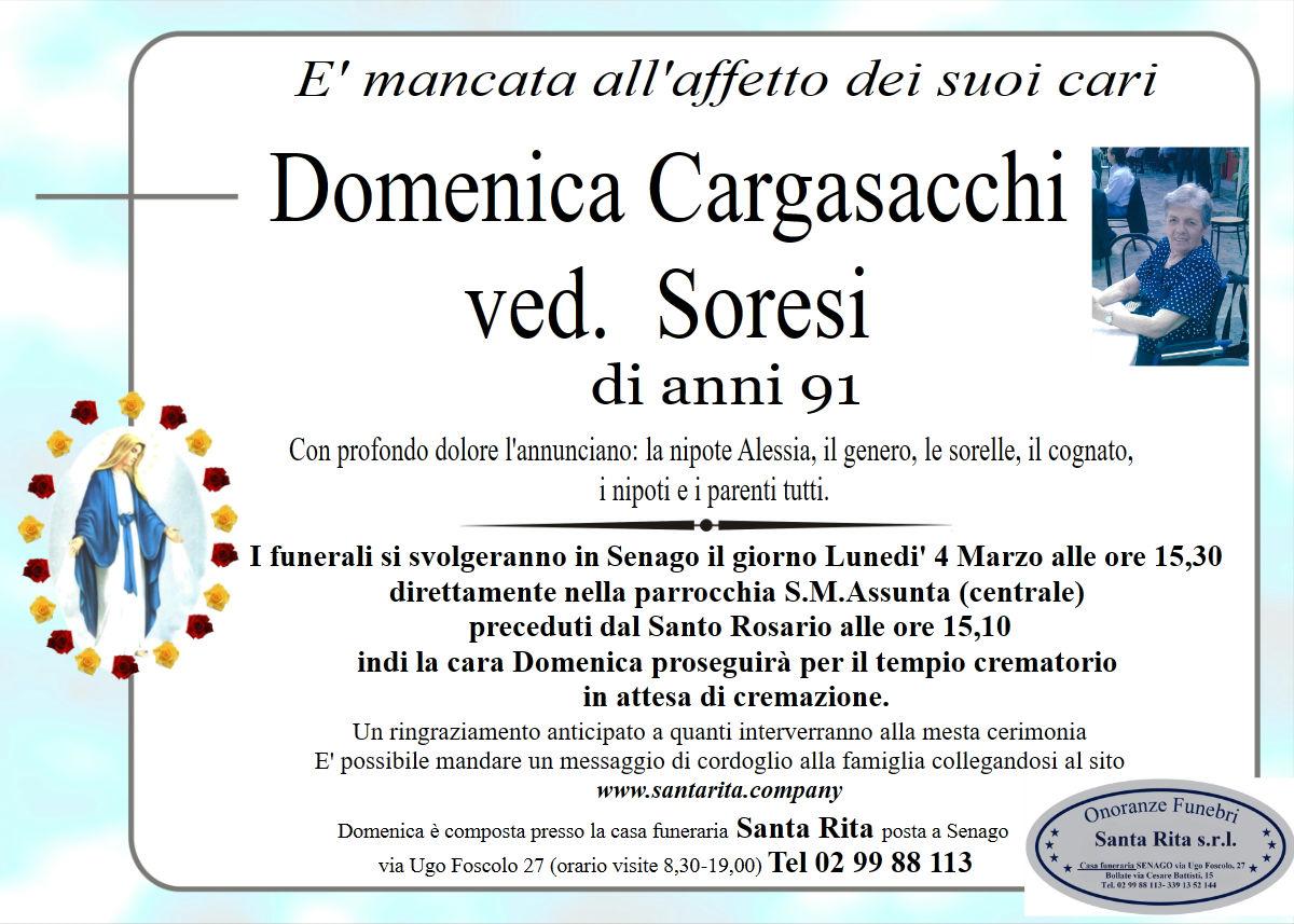 DOMENICA CARGASACCHI