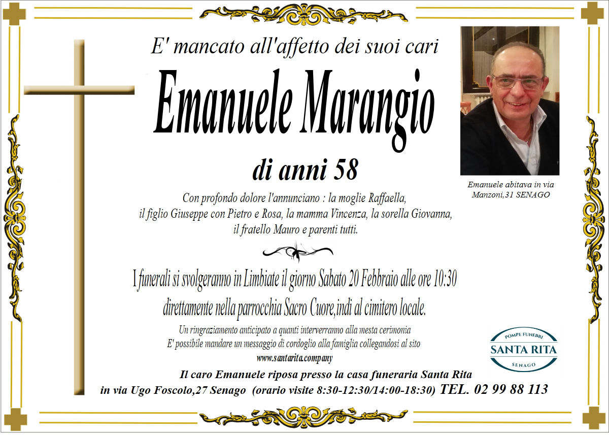 EMANUELE MARANGIO
