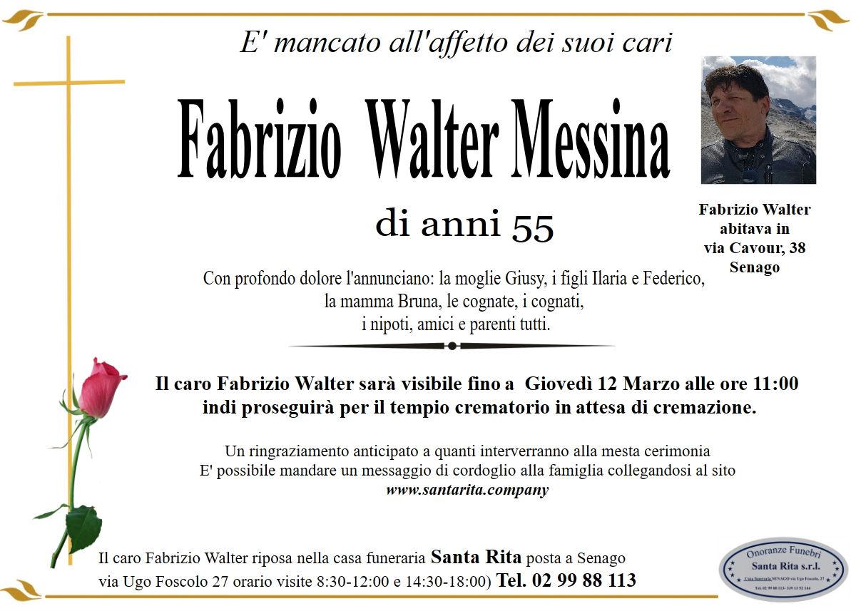 FABRIZIO WALTER MESSINA
