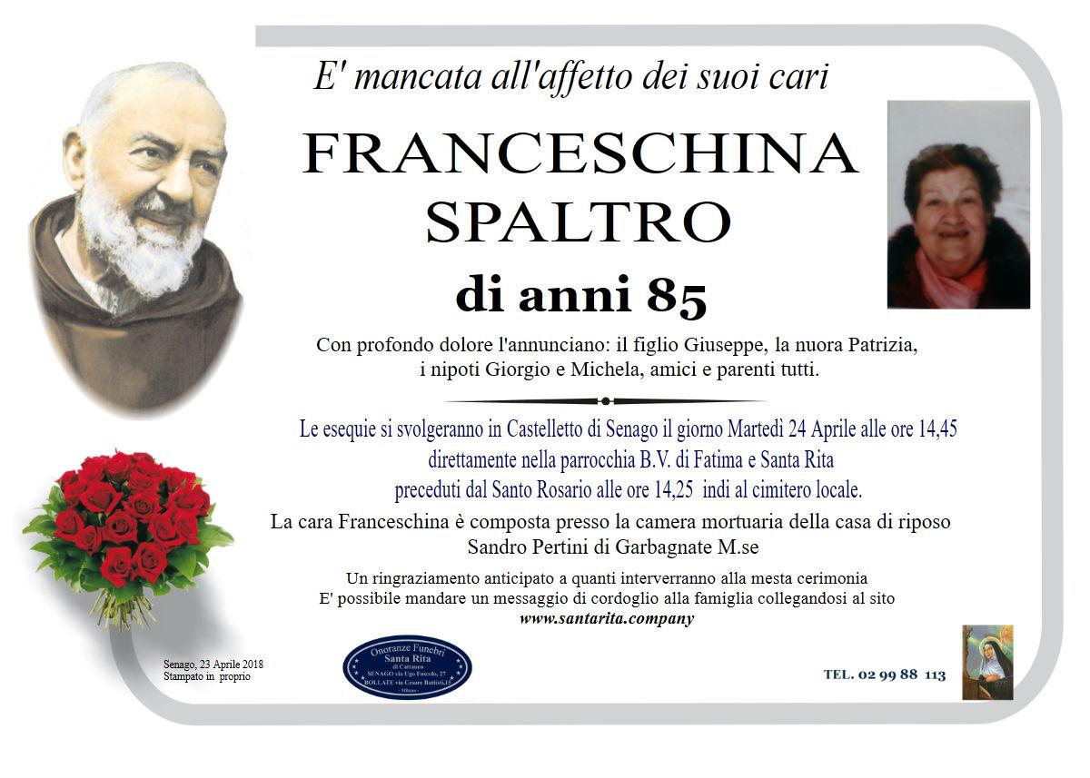 Franceschina Spaltro