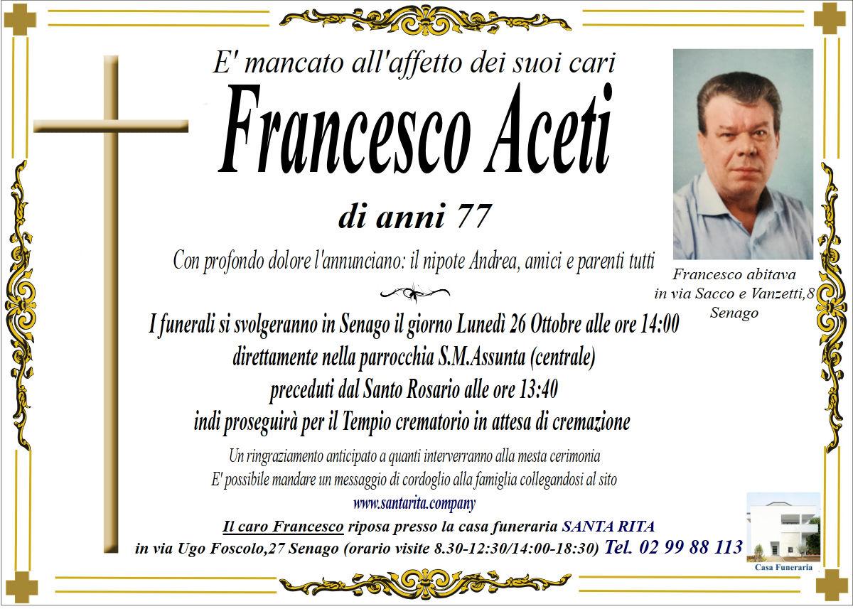 FRANCESCO ACETI