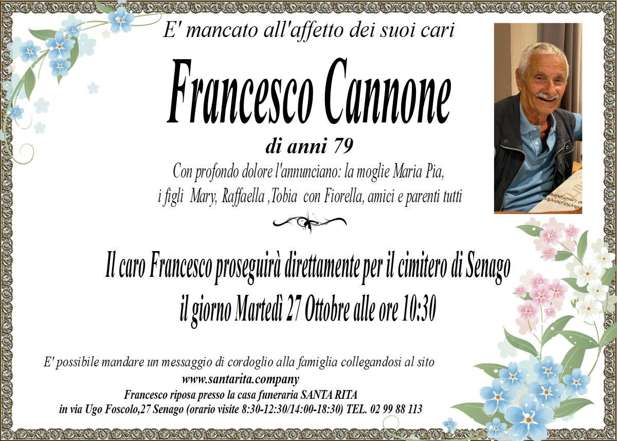 FRANCESCO CANNONE