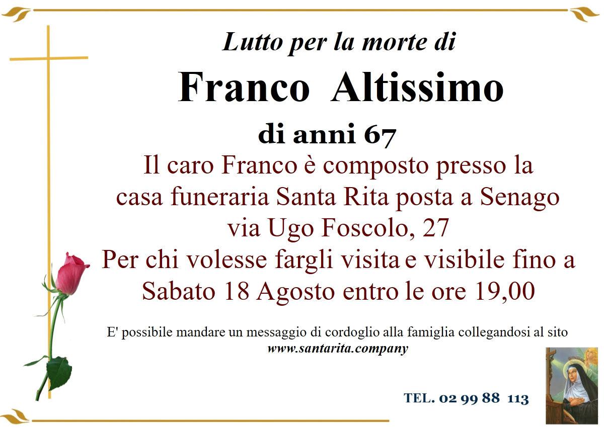 Franco Altissimo