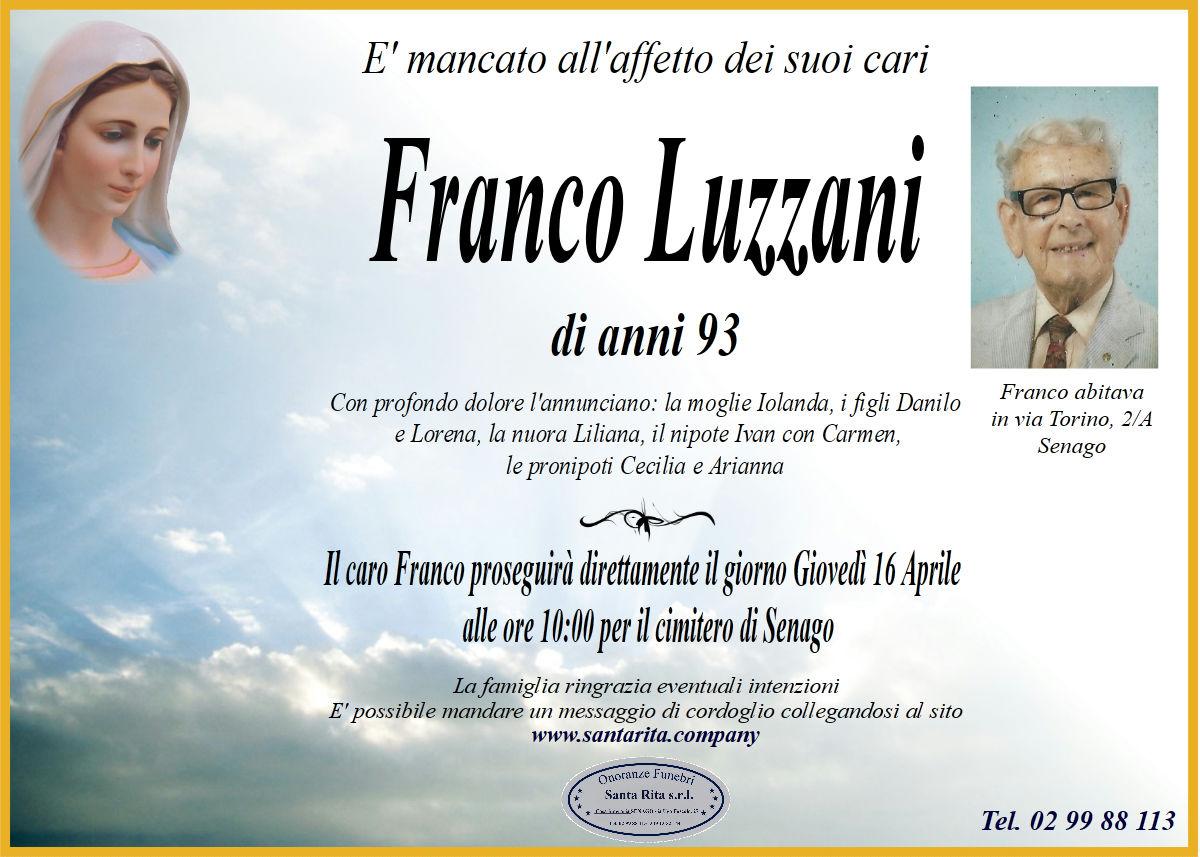 FRANCO LUZZANI