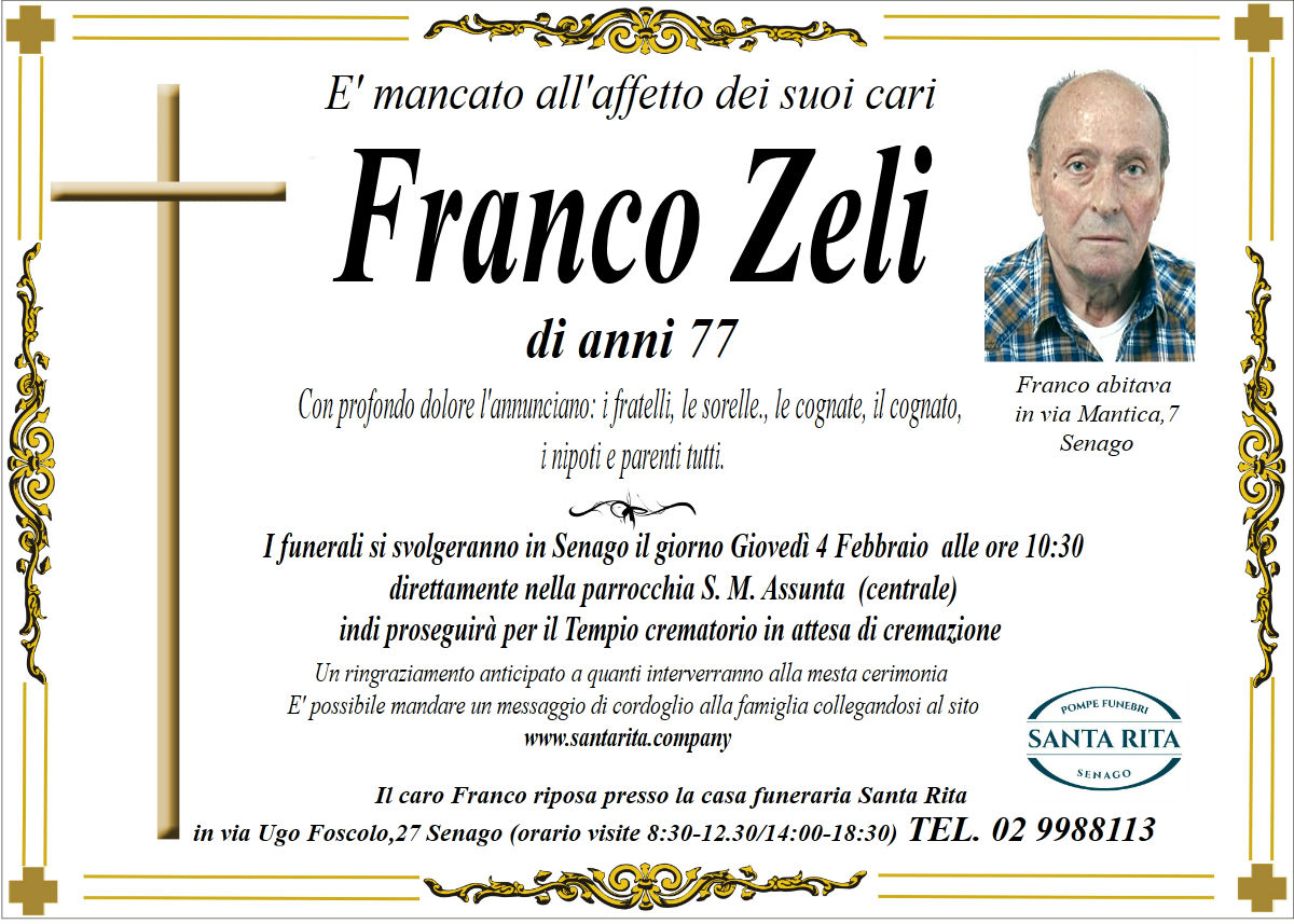 FRANCO ZELI