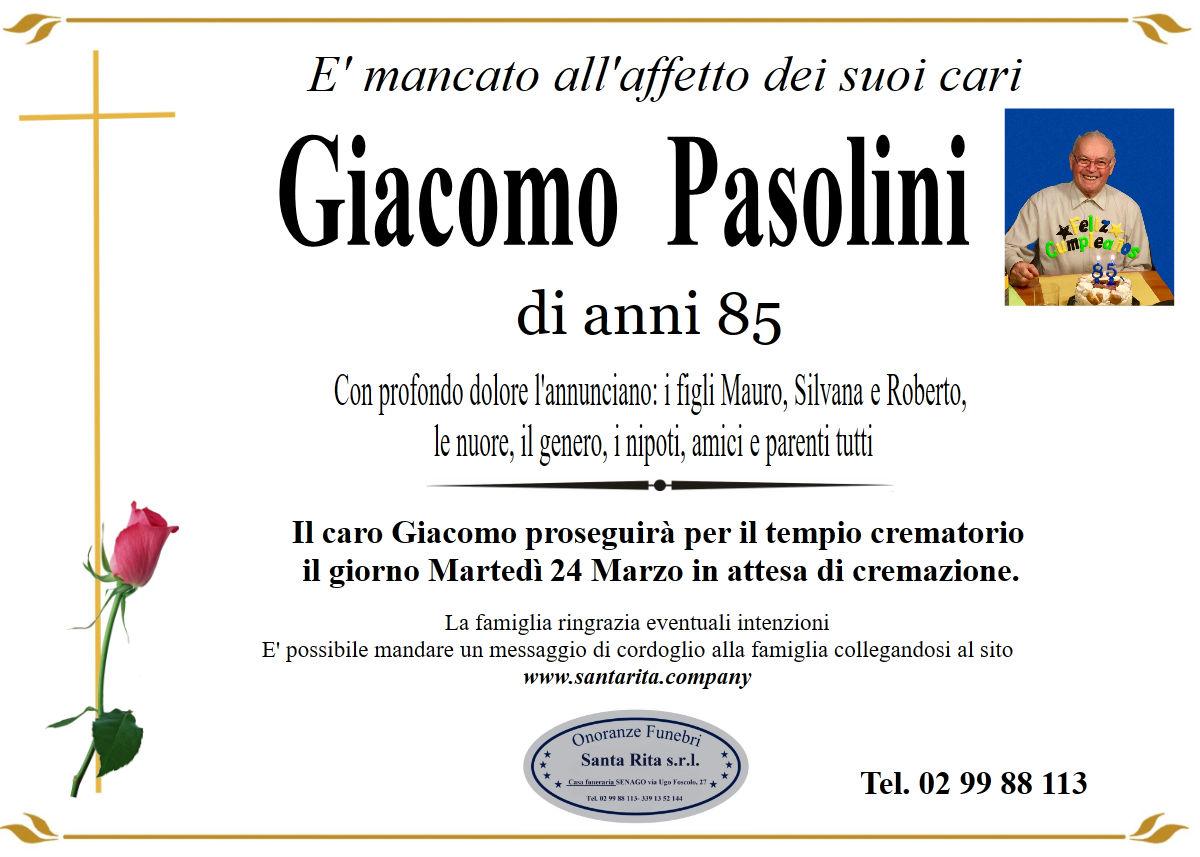 GIACOMO PASOLINI