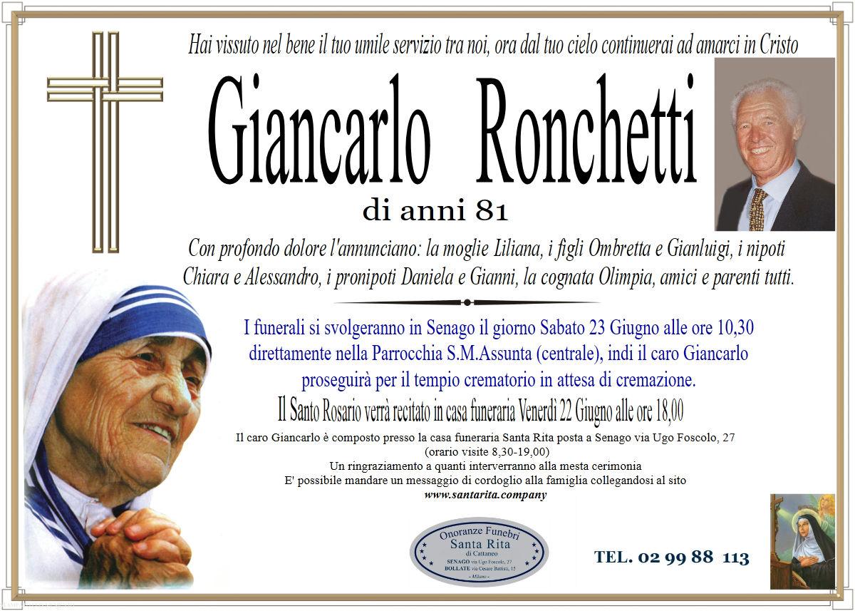 Giancarlo Ronchetti