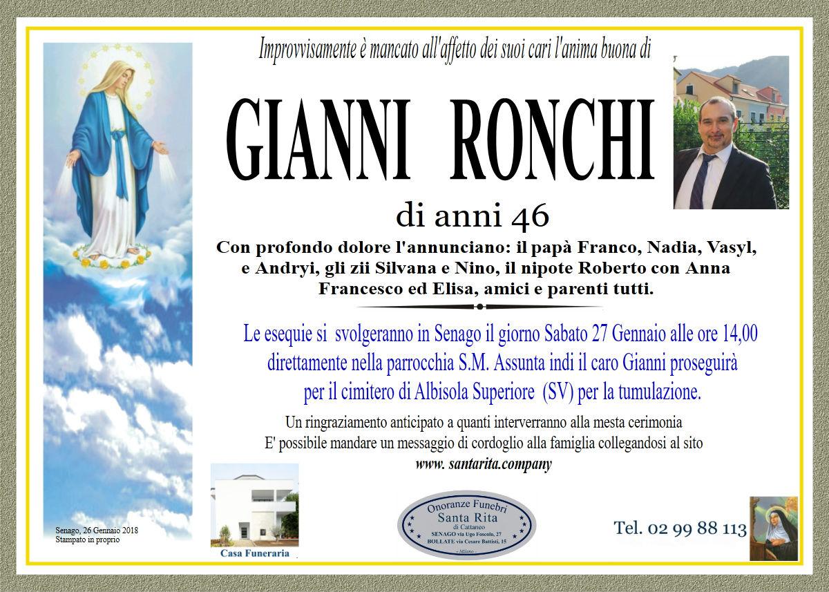 Gianni Ronchi