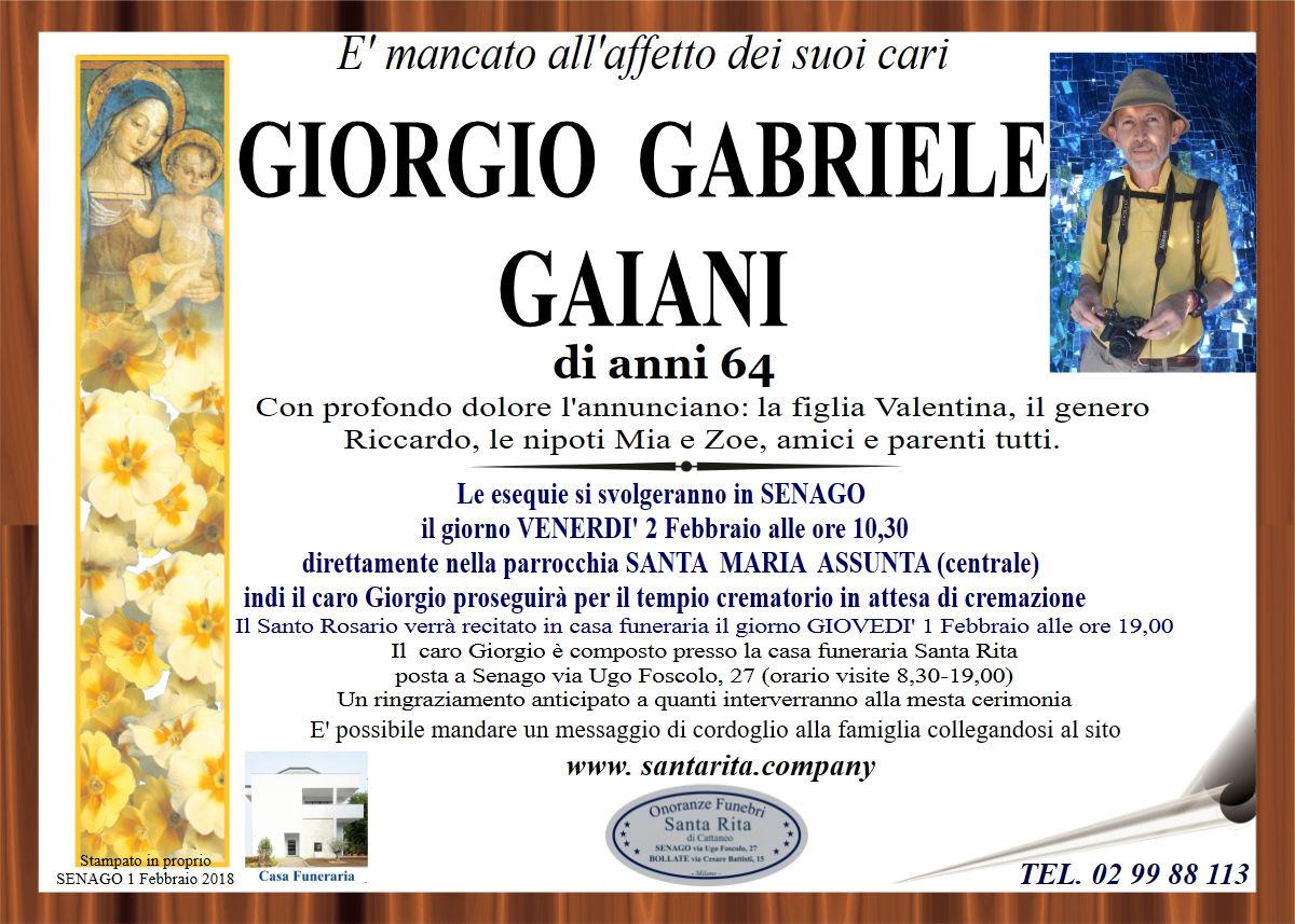 Giorgio Gabriele