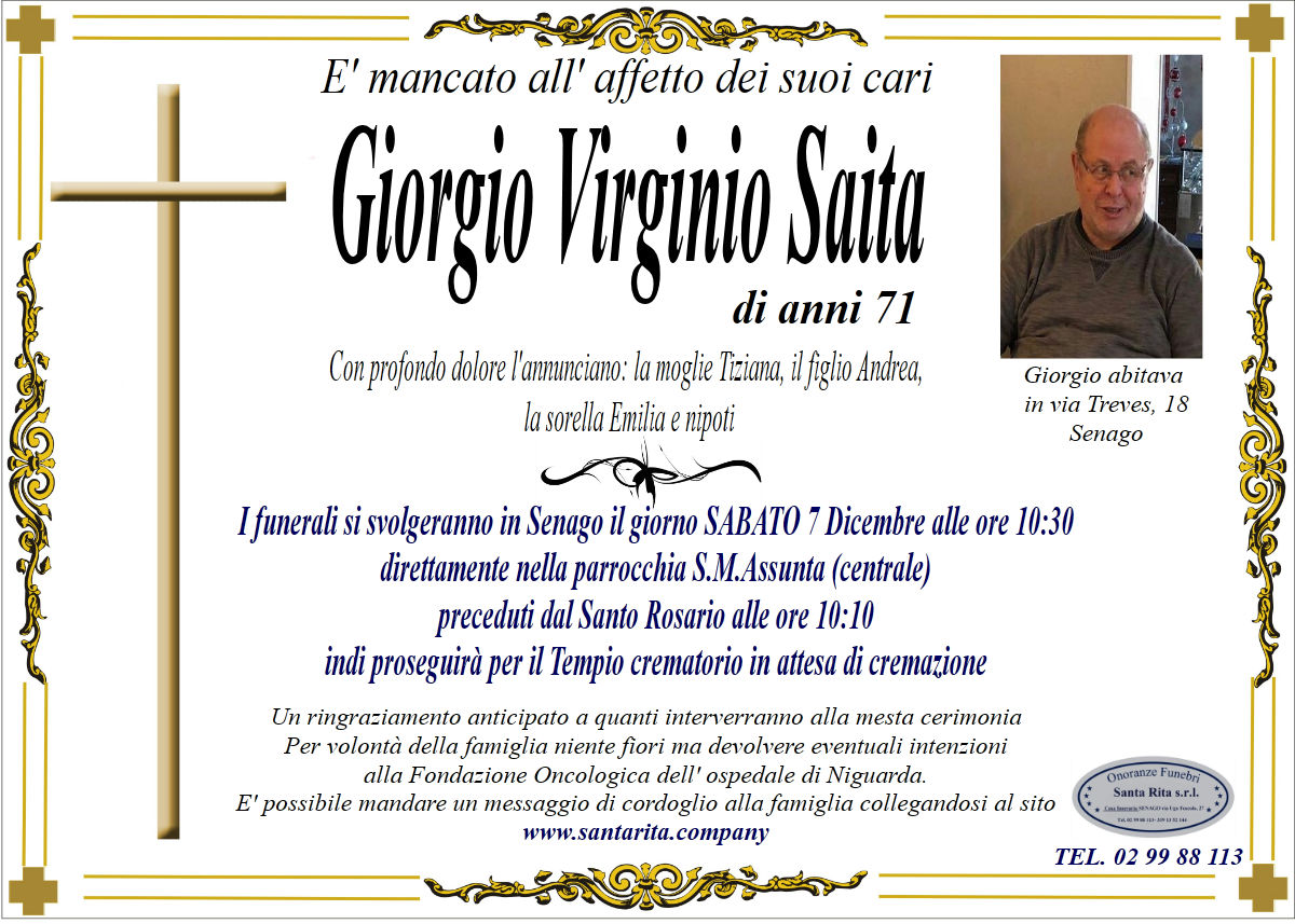 GIORGIO VIRGINIO SAITA