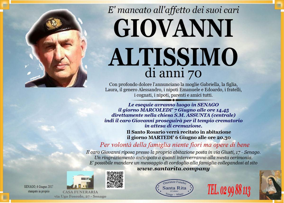 Giovanni Altissimo