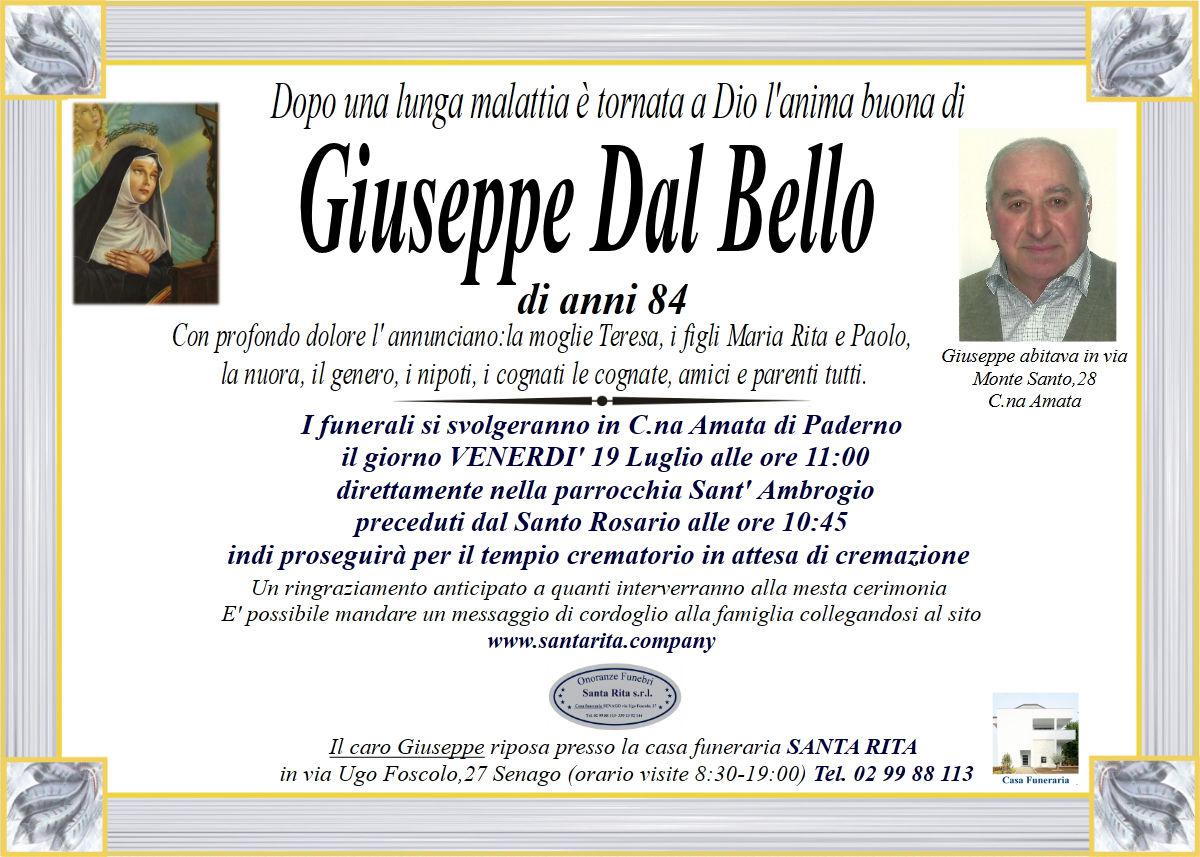 GIUSEPPE BENEDETTO DAL BELLO