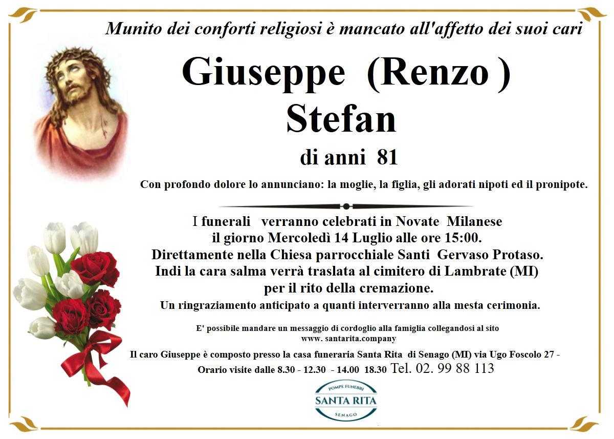 GIUSEPPE (RENZO) STEFAN
