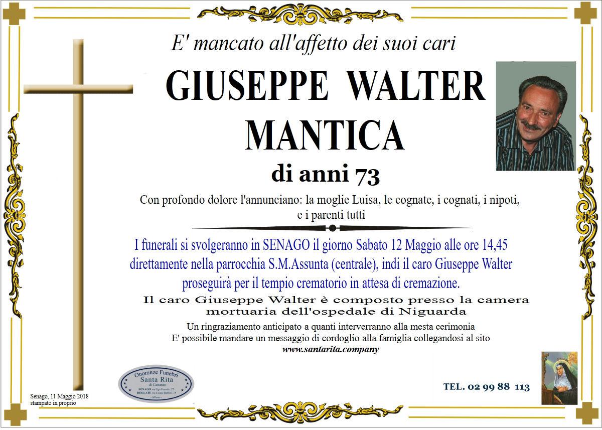 Giuseppe Walter Mantica