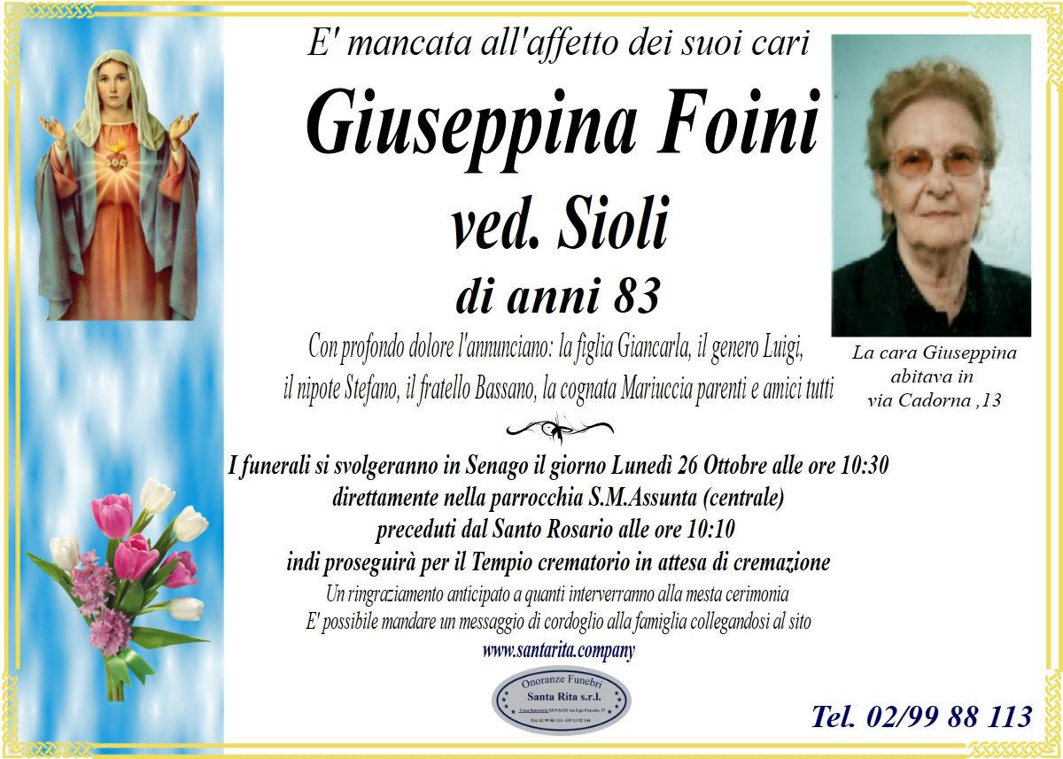 GIUSEPPINA FOINI