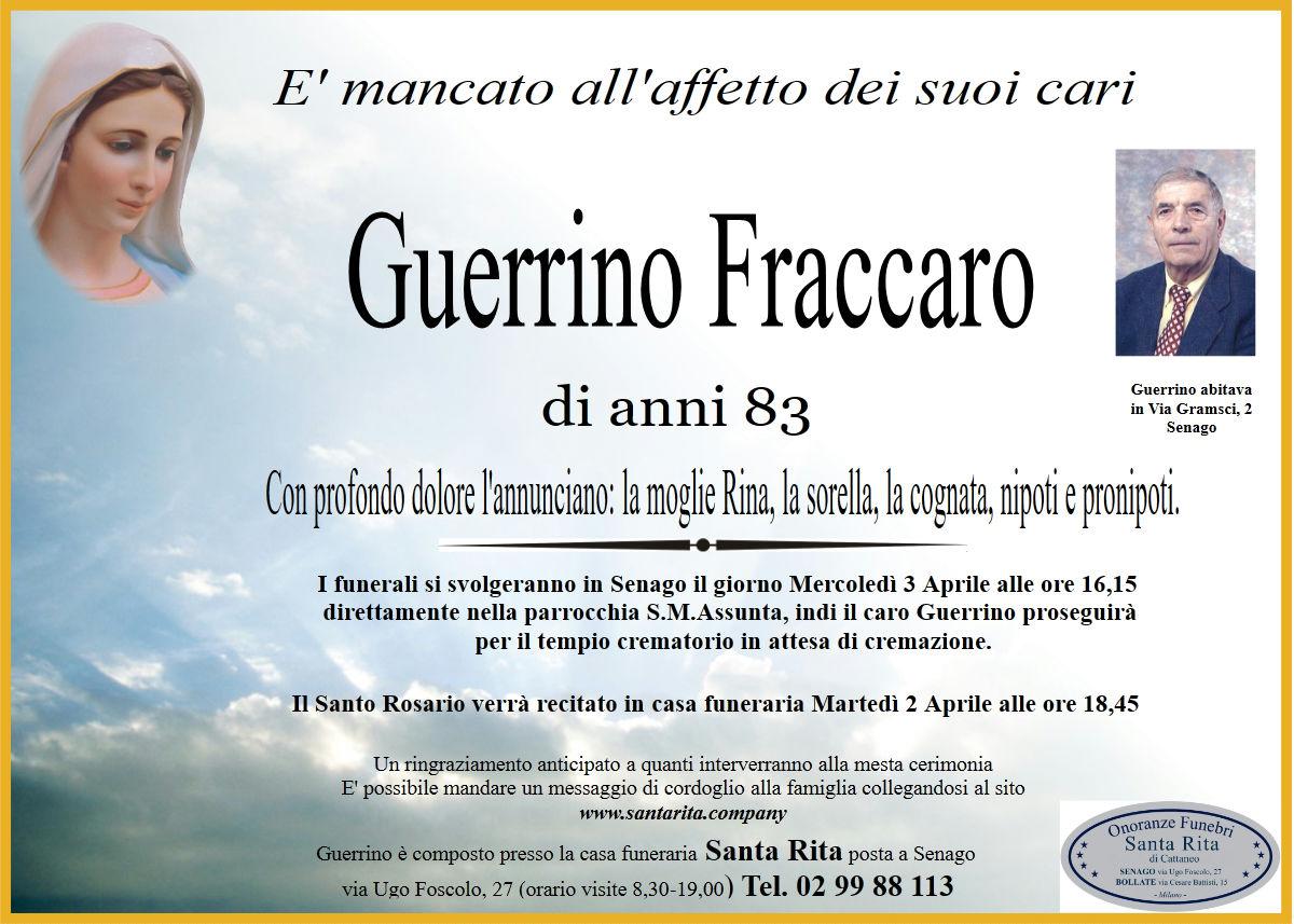 GUERRINO FRACCARO