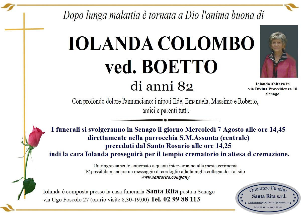 IOLANDA COLOMBO