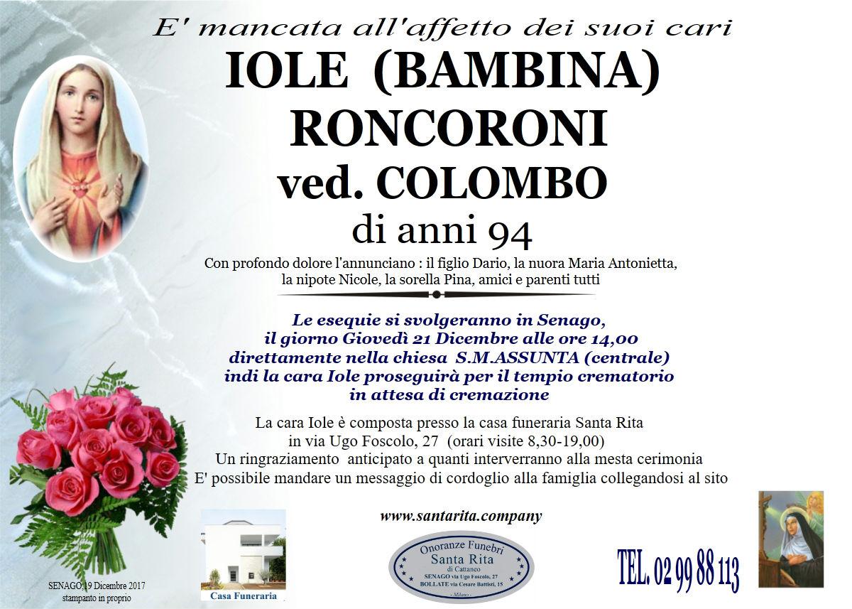 Iole Roncoroni (Bambina)